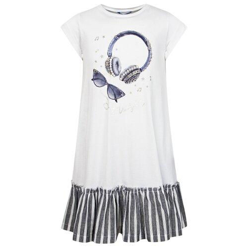 Купить Платье Mayoral размер 134, белый, Платья и сарафаны