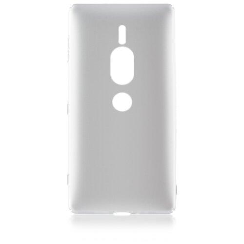 Чехол Rosco XZ2P-4SIDE-ST для Sony Xperia XZ2 Premium серебряный
