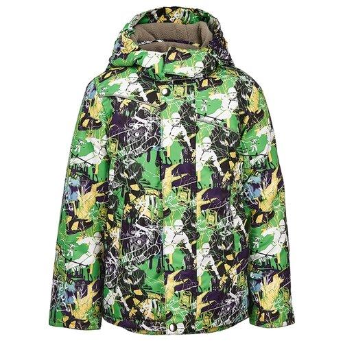 Фото - Куртка Oldos Смит LAW191T107JK размер 98, зеленый куртка oldos мальта law192t106jk размер 98 зеленый