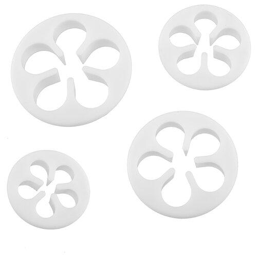 S-CHIEF Вырубка Цветок пятилистник. Роза, SHF-0023