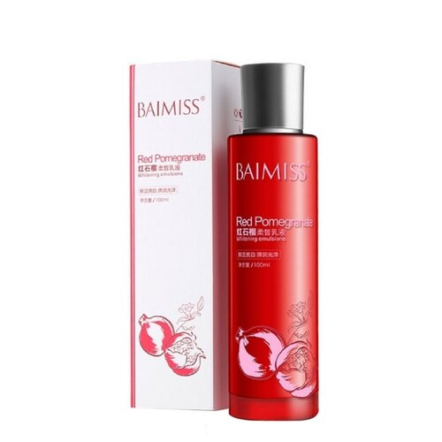 Baimiss Red Pomegranate Эмульсия для лица с гранатом, 100 мл матирующая эмульсия для лица драйтач spf30 30 мл vichy capital ideal soleil