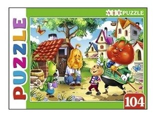 Пазл Рыжий кот Artpuzzle Сказка №91 (ПА-4546), 104 дет.