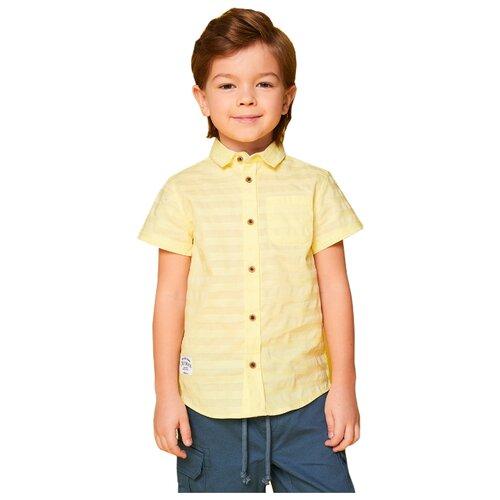 Рубашка INFUNT размер 104, желтыйРубашки<br>