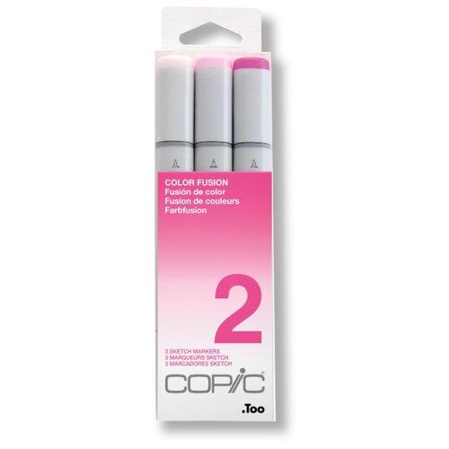 Купить COPIC набор маркеров Sketch Color Fusion 2 (H21075652), 3 шт., Фломастеры