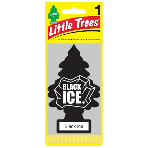 Фото - Little Trees Ароматизатор для автомобиля Ёлочка Черный лед (Black Ice) 10 г chinese ancient trees black tea leaves