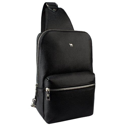 Рюкзак Dimanche 818, натуральная кожа, черный рюкзак dimanche dimanche di042bwbzyt0