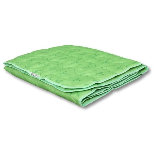 Одеяло АльВиТек Bamboo, легкое, 140 х 205 см (светло-салатовый) одеяло belashoff белое золото стеганое легкое цвет белый 140 х 205 см