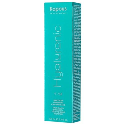 Купить Kapous Professional Hyaluronic Acid Крем-краска для волос с гиалуроновой кислотой, 7.0, Блондин, 100 мл
