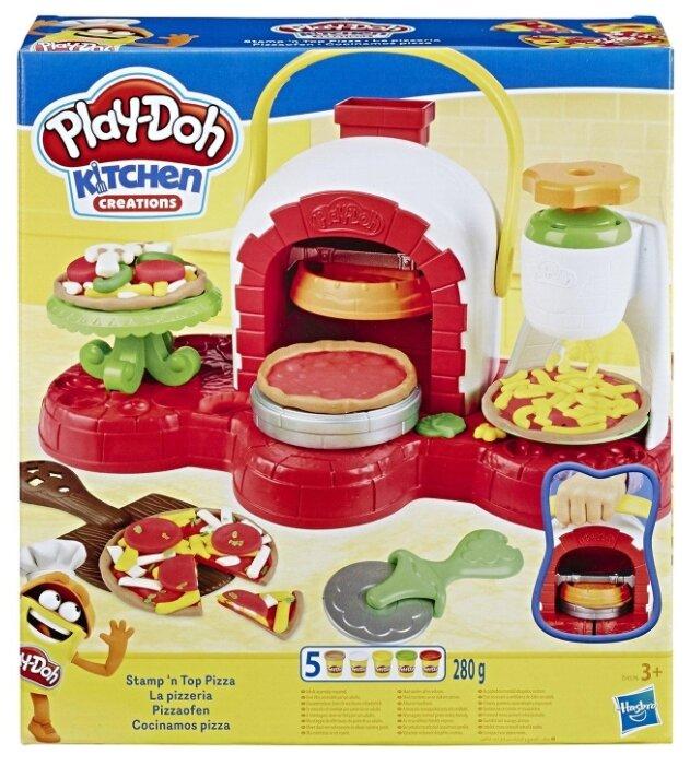 Масса для лепки Play-Doh Печем пиццу (E4576)