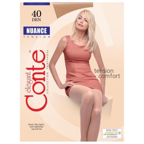 Фото - Колготки Conte Elegant Nuance 40 den, размер 2, bronz (бежевый) колготки conte elegant active soft 40 den размер 2 bronz бежевый