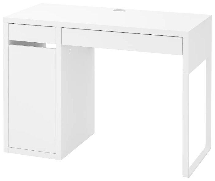 Письменный стол IKEA Микке — купить по выгодной цене на Яндекс.Маркете