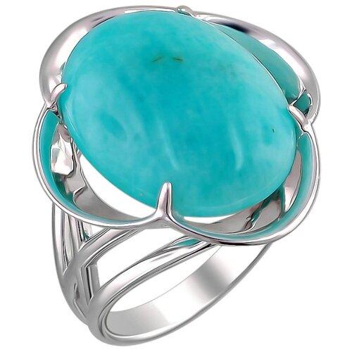Эстет Кольцо с сердоликами из серебра С15К451501, размер 18 фото