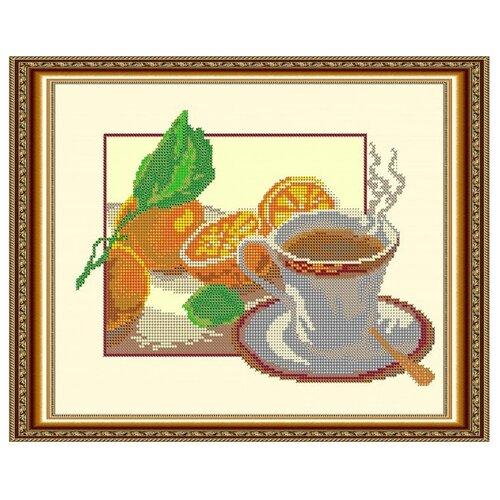 Светлица Набор для вышивания бисером Чашка чая 30 х 24 см (044)
