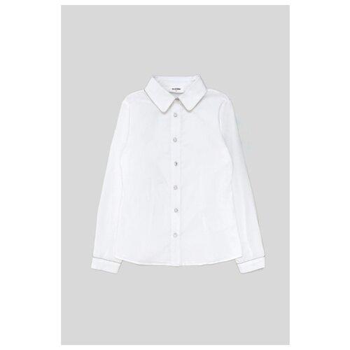 Купить Блузка Acoola размер 128, белый, Рубашки и блузы