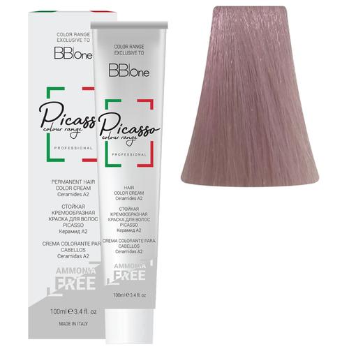 BB One Picasso Colour Range Перманентная крем-краска без аммиака, 100 мл, 10.16 очень светлый блонд розовый жемчуг bb one picasso colour range перманентная крем краска без аммиака 100 мл 10 16 очень светлый блонд розовый жемчуг