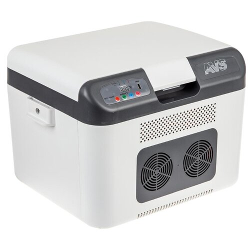 Автомобильный холодильник AVS CC-27WBC светло-серый/серый цена 2017
