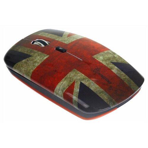 Беспроводная мышь SmartBuy SBM-327AG-BF-FC British Flag Full-Color Print Blue-Red USB