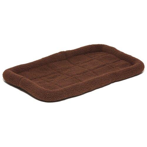 Лежак для собак ZooOne 6103 75х46х7.5 см коричневый