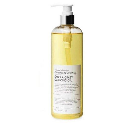 Купить Graymelin гидрофильное масло для умывания Canola Crazy Cleansing Oil, 500 мл