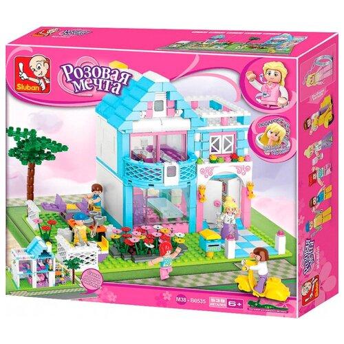 Купить Конструктор SLUBAN Розовая мечта M38-B0535 Семейный дом, Конструкторы