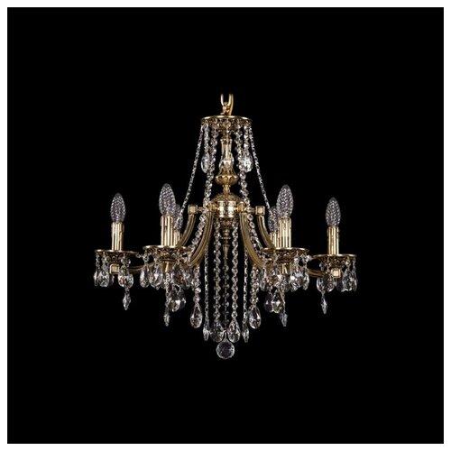 Люстра Bohemia Ivele Crystal 1771/6/190/B/GB, E14, 240 Вт часы 14 6 см crystal bohemia