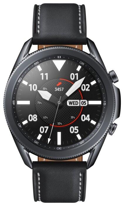 Умные часы Samsung Galaxy Watch3 45мм, черный фото 1