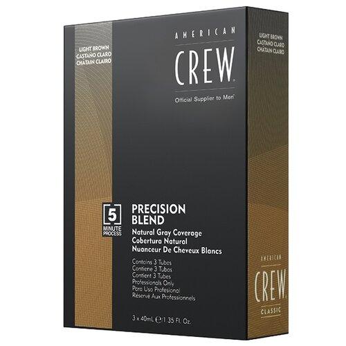 Купить American Crew Precision Blend краска-камуфляж для седых волос, 5/6 пепельный