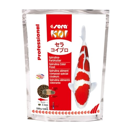 Сухой корм для рыб Sera Koi Professional Spirulina Color 2200 г