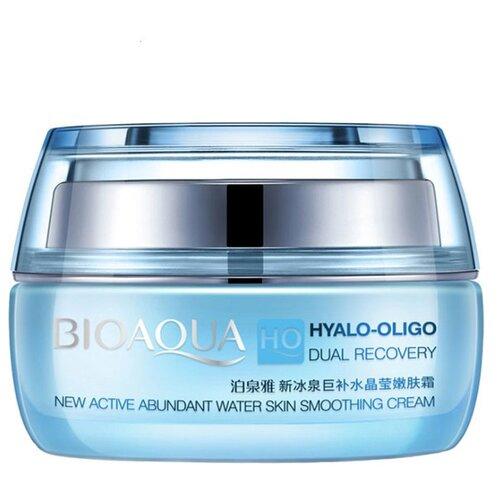 BioAqua HO Dual Recovery Увлажняющий крем для лица с олигомером гиалуроновой кислоты, 50 г кислоты для лица летом