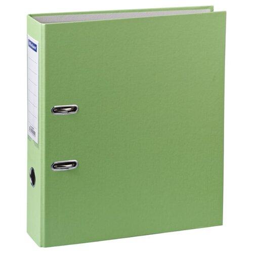 Купить OfficeSpace Папка-регистратор с карманом на корешке A4+, бумвинил, 70 мм фисташковый, Файлы и папки