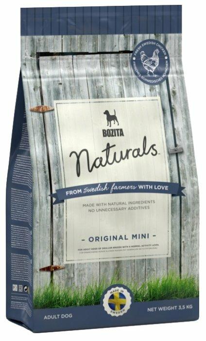 Корм для собак Bozita Naturals Original Mini курица 4.75 кг (для мелких пород)