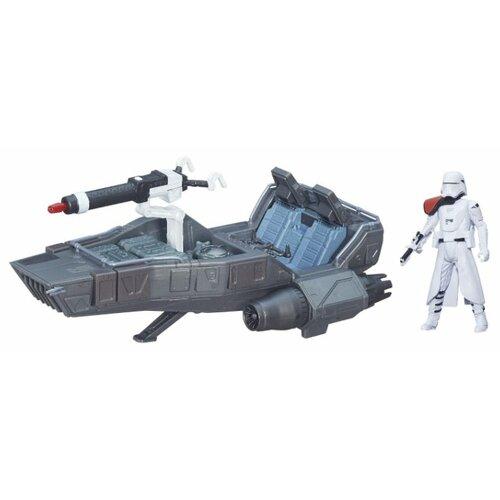 цена на Игровой набор Hasbro Звёздные войны: Пробуждение Силы. Снежный спидер Первого ордена (B3673)