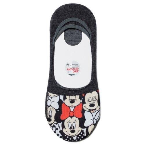 Фото - Подследники Conte Elegant Disney 18С-198СПМ 142, размер 23, темно-серый носки conte elegant disney