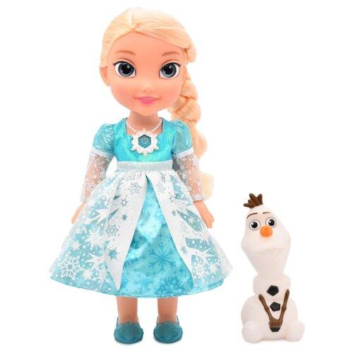 Интерактивная кукла JAKKS Pacific Disney Frozen Эльза с Олафом, 35 см, 31058-ТТ-V5 набор игровой jakks pacific домик с фигуркой смурфика