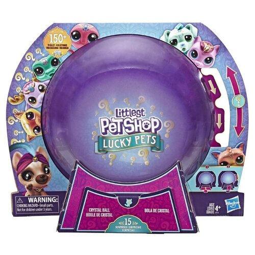 Игровой набор Littlest Pet Shop Littlest Pet Shop Lucky Pets Crystal Ball E7412 пазл 54 эл диптих littlest pet shop веселые времена