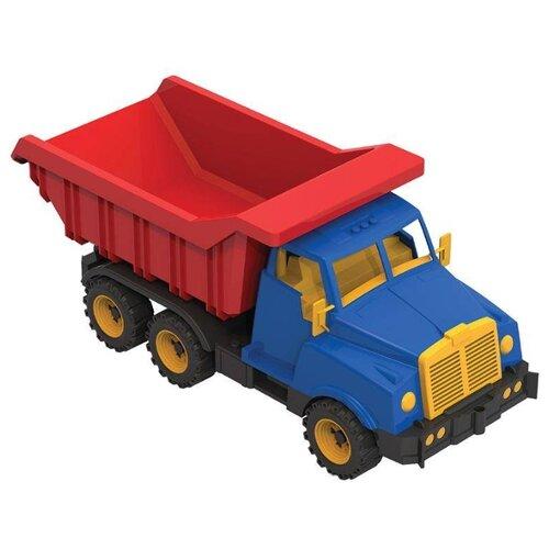 Купить Грузовик Нордпласт Витязь 54.5 см, Машинки и техника
