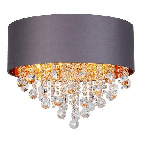 Люстра ST Luce Lacchia SL1350.702.06, E14, 240 Вт, кол-во ламп: 6 шт., цвет арматуры: хром, цвет плафона: серый недорого