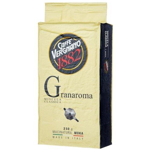 Фото - Кофе молотый Caffe Vergnano 1882 Gran Aroma, 250 г кофе молотый caffe vergnano 1882 espresso casa 250 г