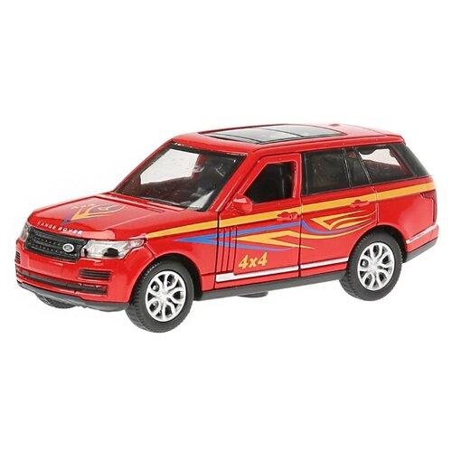 Купить Внедорожник ТЕХНОПАРК Range Rover Vogue Спорт (VOGUE-S) 12 см красный, Машинки и техника