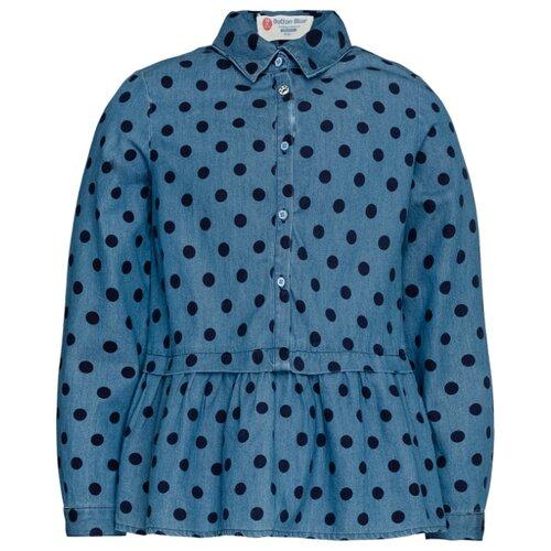 Блузка Button Blue размер 116, голубой