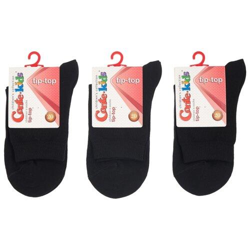 Купить Носки Conte-kids комплект 3 пары размер 20, черный