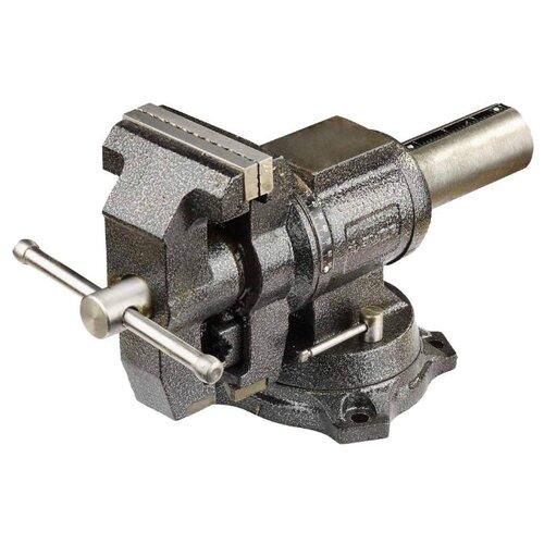 Фото - Тиски ЗУБР Эксперт 32712-125 125 мм тиски зубр 125мм с поворотным основанием эксперт 32606 125