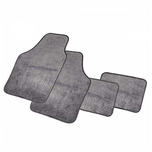 Комплект ковриков AUTOPROFI PET602 4 шт. серый