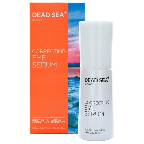 Dead Sea + Стабилизирующая сыворотка для глаз с пептидами Correcting Eye Serum 40 мл dead in sea