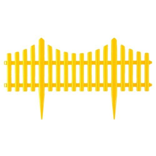 Забор декоративный PALISAD Гибкий, желтый, 3 х 0.24 м