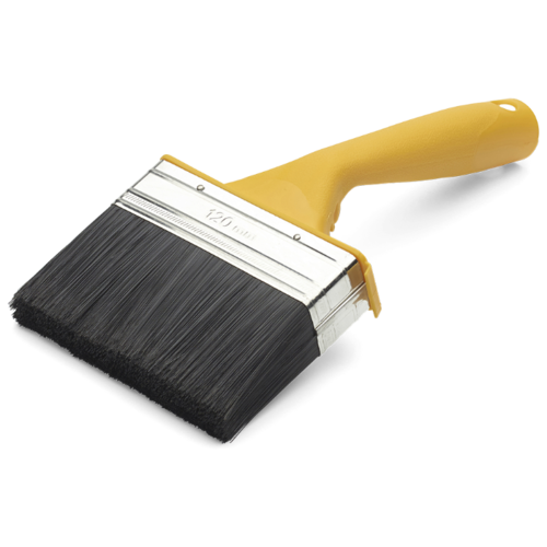 Кисть ANZA 313292, 120 мм, желтый рукоятка anza 613625 elite