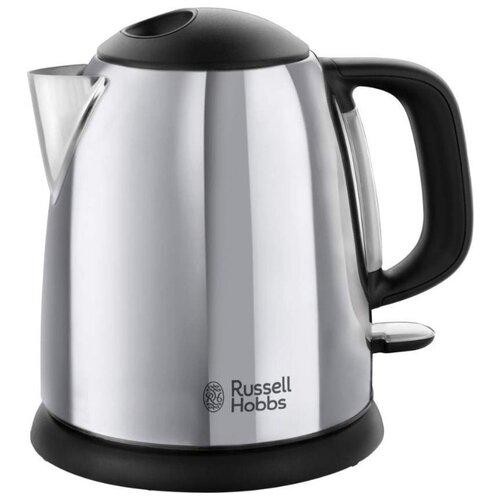 Фото - Чайник Russell Hobbs 24990-70, серебристый чайник russell hobbs 21272 70 red