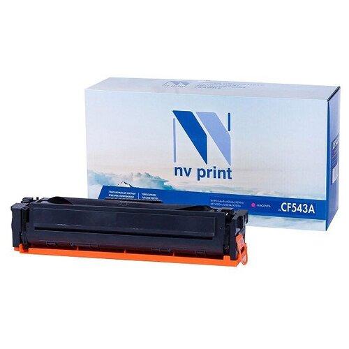 Фото - Картридж NV Print CF543A Magenta для HP, совместимый картридж nv print q6473a 711 magenta для hp и canon совместимый