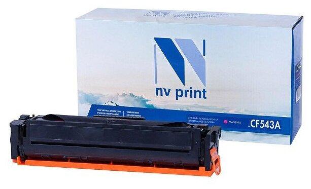 Картридж NV Print CF543A для HP