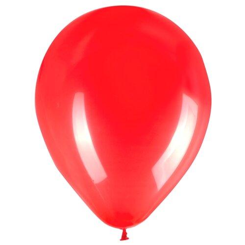 Набор воздушных шаров ZIPPY латекс 30 см (50 шт.) красный